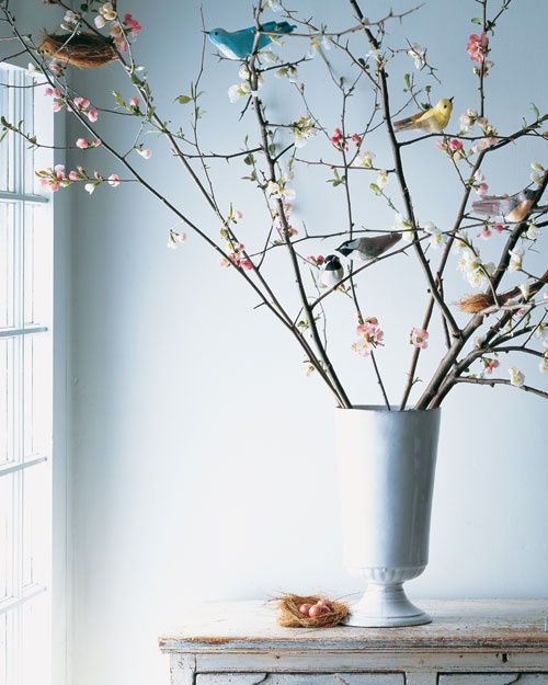 DIY: Crepe paper birds - Martha Stewart